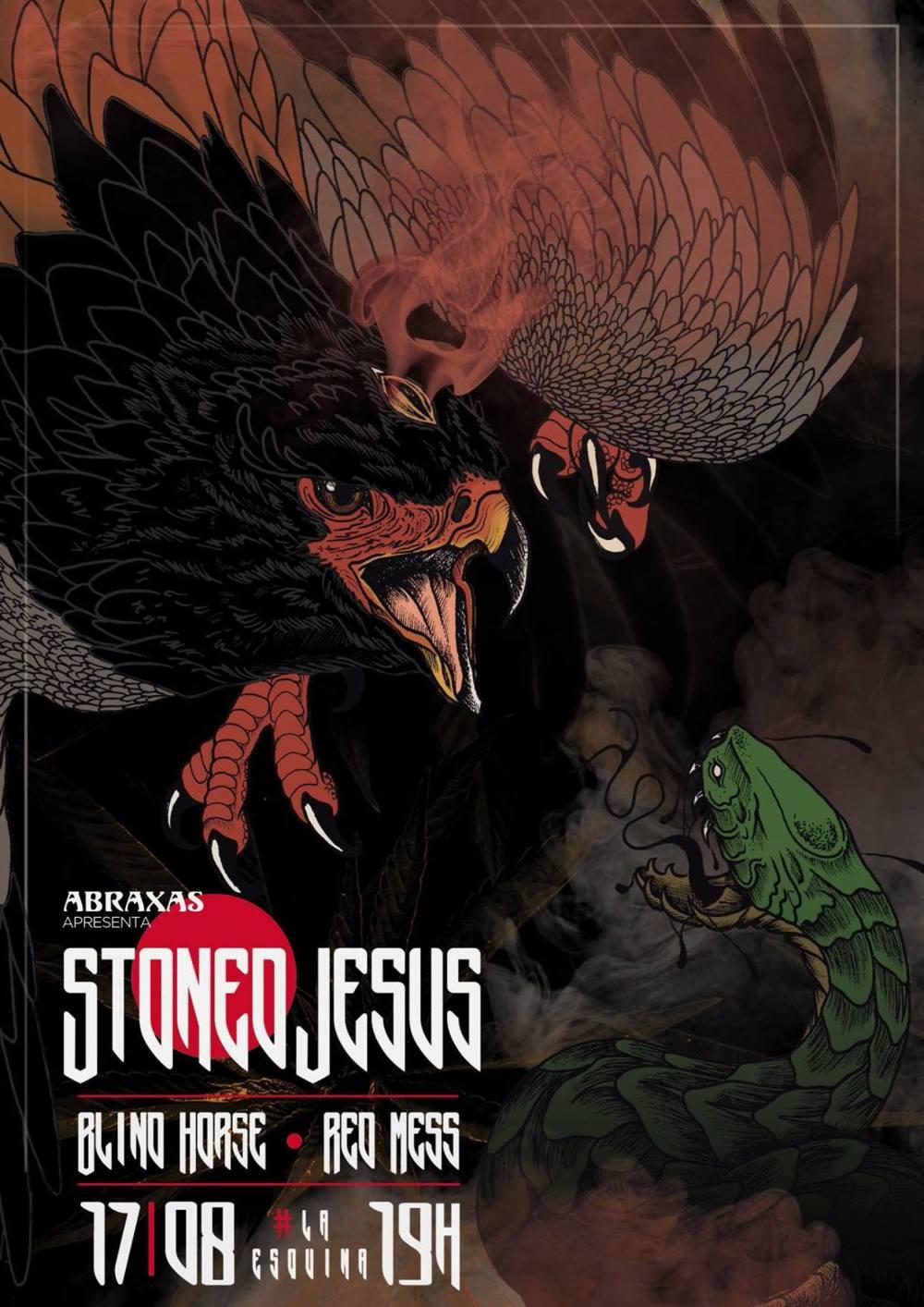 Blind Horse - Stoned Jesus - Red Mess - La Esquina 17-8-17
