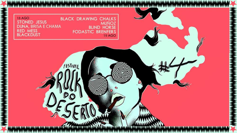 Rock do Deserto - Blind Horse e várias bandas 19-8-17